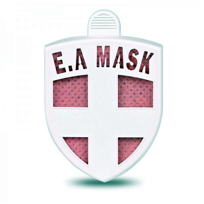 "ECOM Air Mask (pink) - ВирусСтопер в виде значка. <span style=""font-style: italic;"">(ES-020p)</span>"